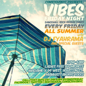 Vibes - Reggae Dancehall Soca - Top Bar @ Top Bar | New York | New York | United States