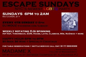 Escape Sundays - Main Bar @ Main Bar | New York | New York | United States