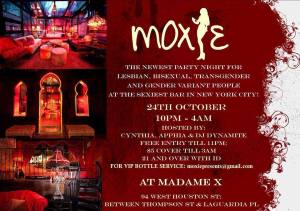 Moxie at Madame X @ Top Bar - Madame X | New York | New York | United States