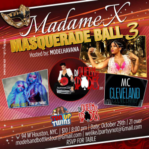 Masquerade Ball 3 @ Main bar @ Madame X | New York | New York | United States