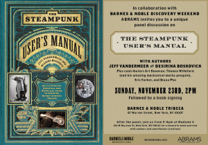 The Steampunk User's Manual, book premier afterparty @ Main bar @ Madame X | New York | New York | United States