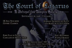 Court of Lazarus @ Top Bar - Madame X | New York | New York | United States