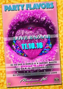 Party Flavors Presents Love Bazaar! @ Main bar @ Madame X | New York | New York | United States