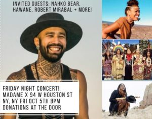 Indigenous People Day Party & Mini Concert @ Top Bar - Madame X   New York   New York   United States