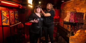 Laying It Down with Carolyn Castiglia and Special Guest Host Rebecca Vigil @ Top Bar - Madame X