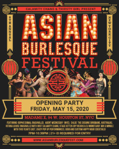8th Annual Asian Burlesque Festival Opening Party! @ Madame X - Top Bar