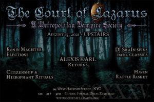 Court of Lazarus @ Top Bar - Madame X | New York | New York | United States