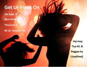 Get Ur Freak On @ Madame X - Main Bar | New York | New York | United States